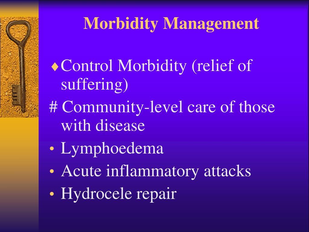 Morbidity Management