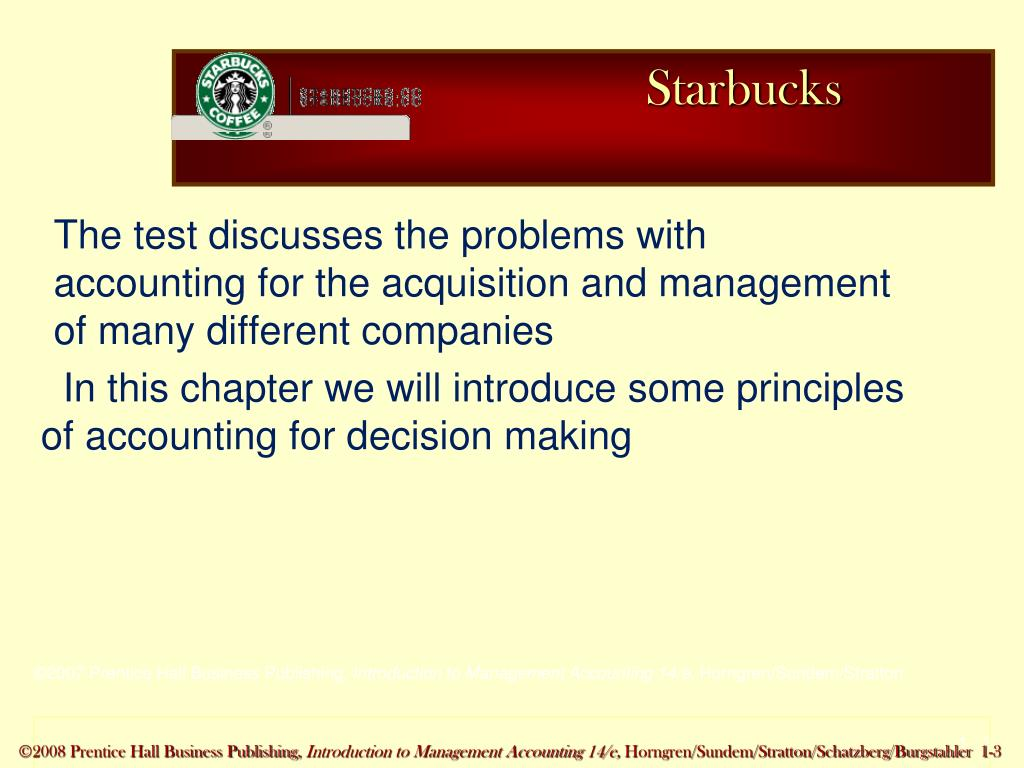 PPT - Introduction to Management Accounting PowerPoint