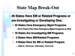 state map break out