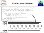 for scheme example