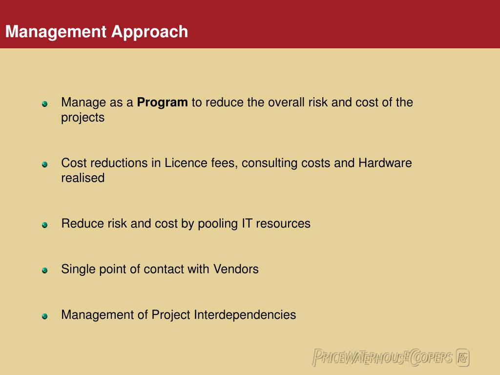 Manage as a