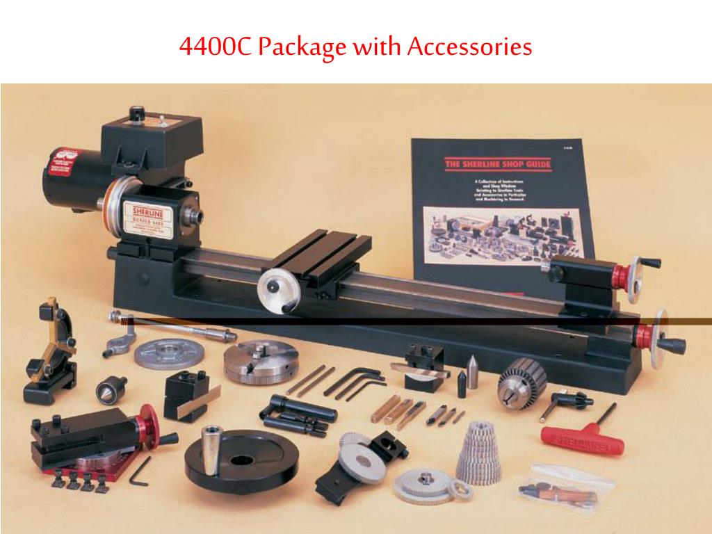 4400C Package with Accessories