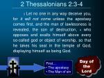 2 thessalonians 2 3 4