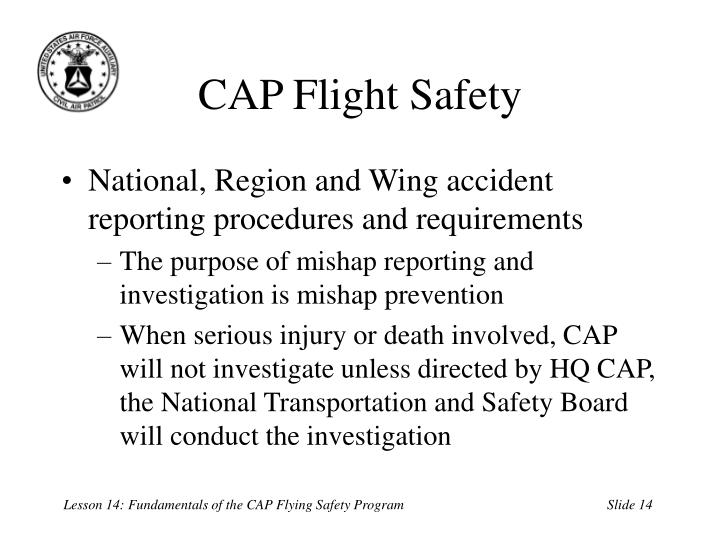 CAP Flight Safety