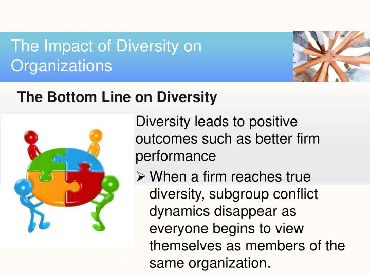 impact of technology and workforce diversity What that line of thinking doesn't account for is the fact that exclusively hiring talent for interpersonal compatibility can negatively impact the quality of work and focus of employees in other words, employee camaraderie does not equal workplace compatibility it definitely does not equal workforce diversity.