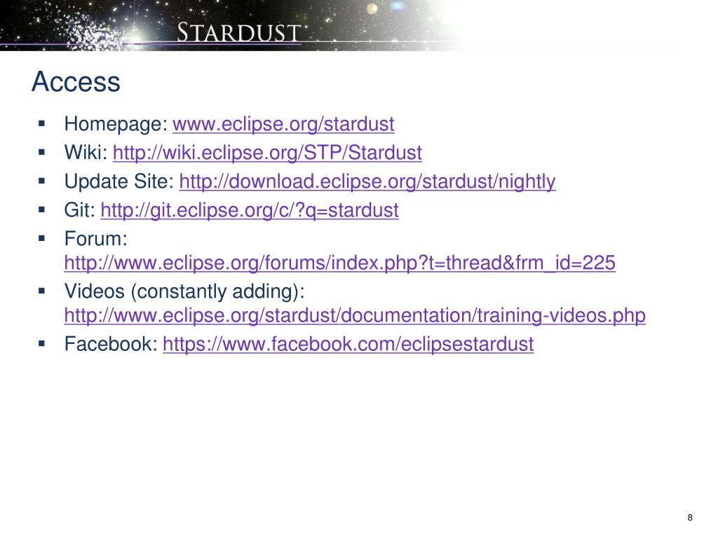 PPT - Stardust – an Eclipse Platform for BPM, SOA and