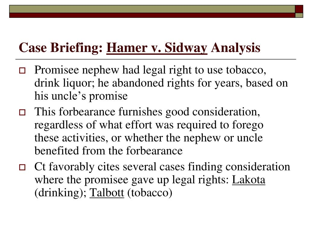 Case Briefing: