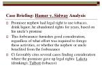 case briefing hamer v sidway analysis25