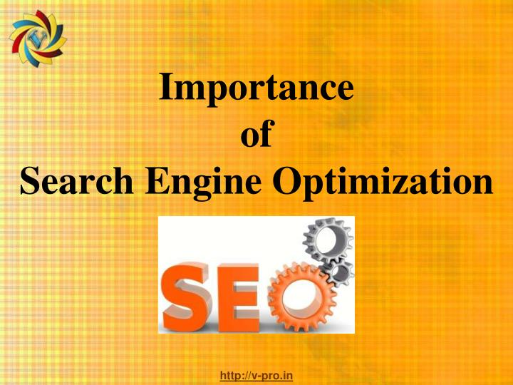 Importance of search engine optimization
