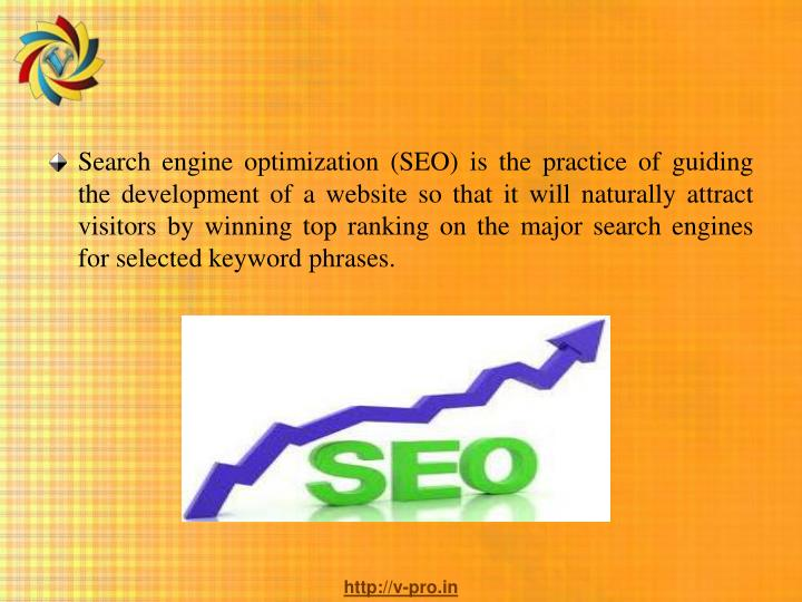 Search engine optimization (SEO) is the practice of guiding the development of a website so that it ...