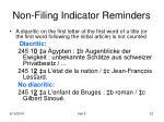non filing indicator reminders1