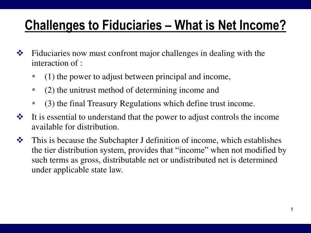 Fiduciaries now must confront major challenges in dealing with the interaction of :