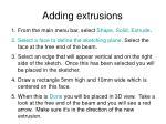 adding extrusions13