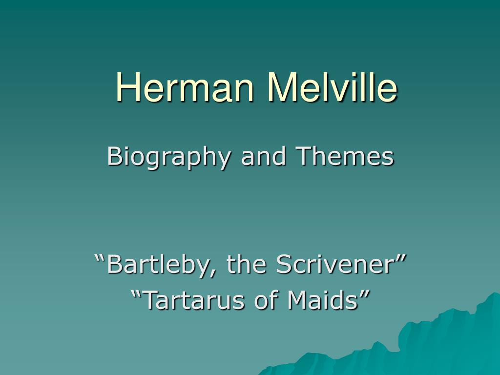 exploring the theme of herman melvilles bartleby the scrivener