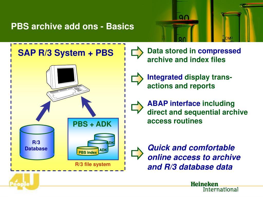 Data stored in