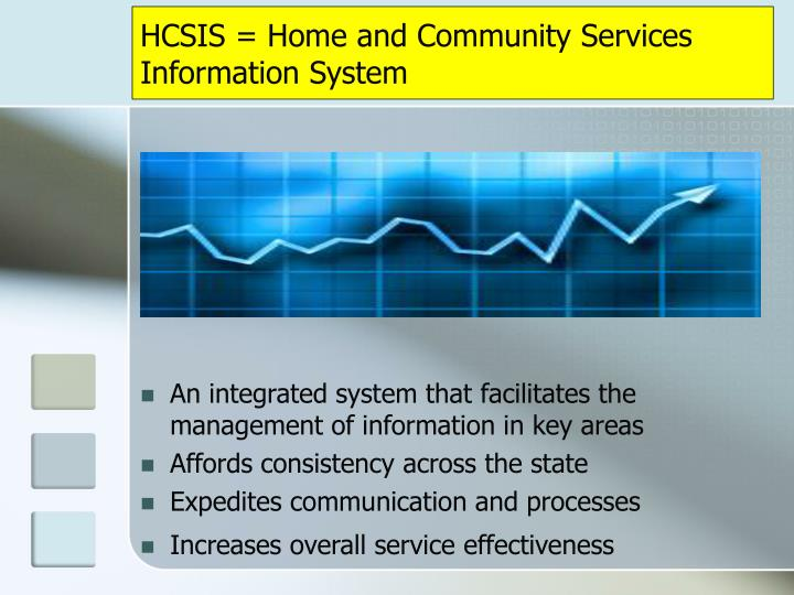 Hcsis home and community services information system