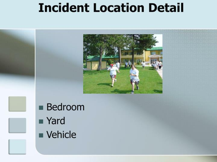 Incident Location Detail