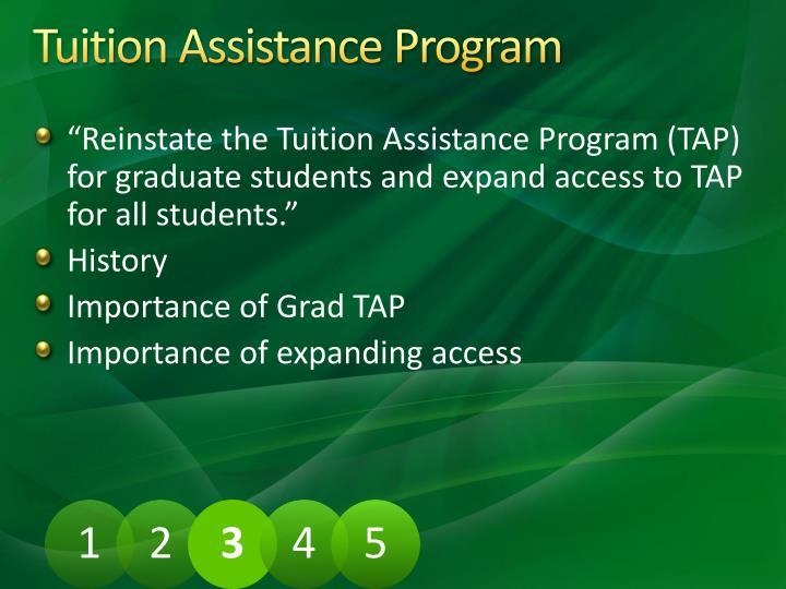 Tuition Assistance Program
