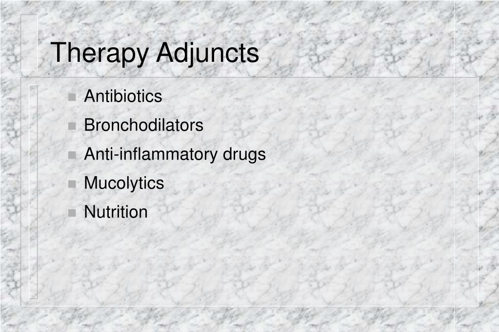 Therapy Adjuncts
