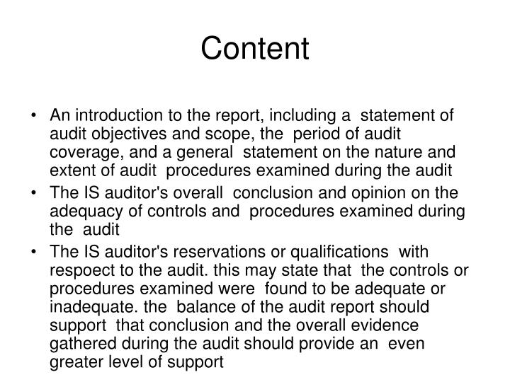 role of auditors and the auditors report essay Essay about role of auditors and the auditor's report  the primary role of the internal auditor is to report to the chief executive officer (ceo).