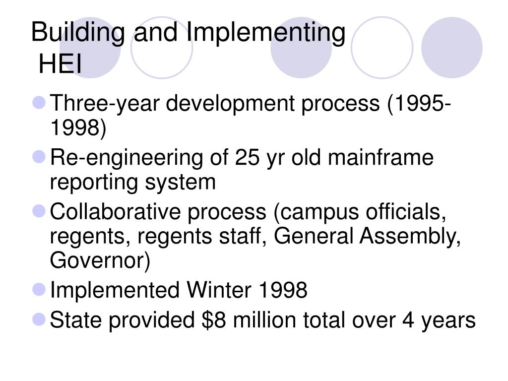 Building and Implementing