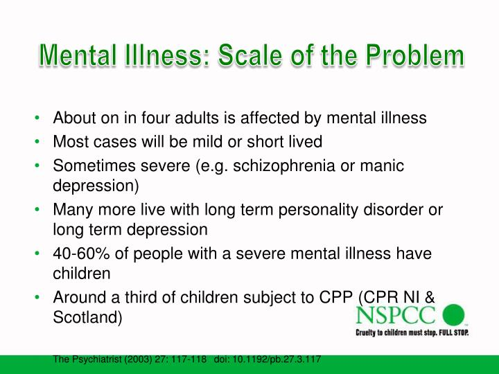 impact of mental illness essay Impact of mental illness mental illness has the potential to impact every faucet of an individual's life, as well as the lives of those close to them, including relationships (family and friends), vocational, financial, and behavioral tendencies.