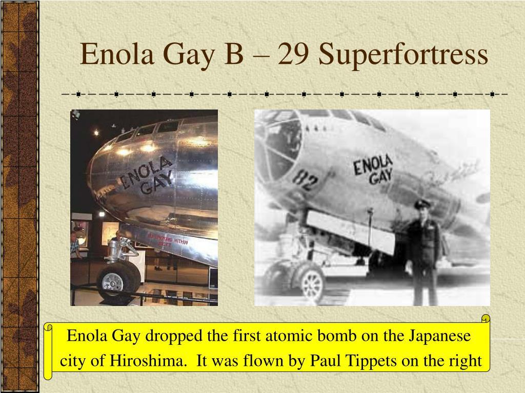 to japan gay of enola Path