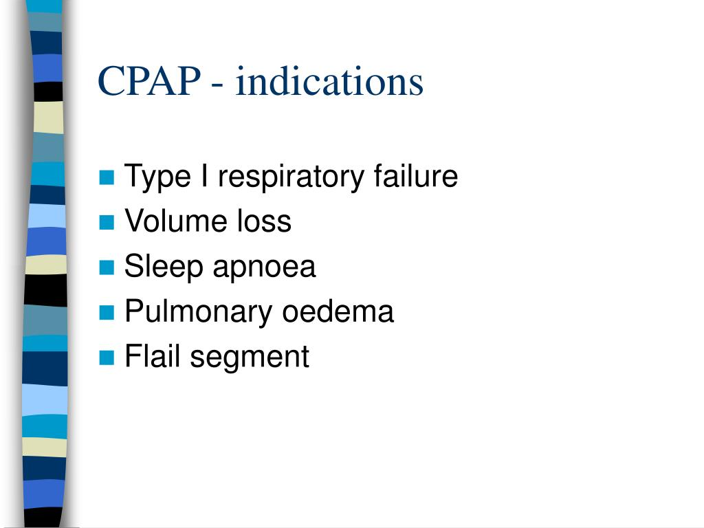 CPAP - indications