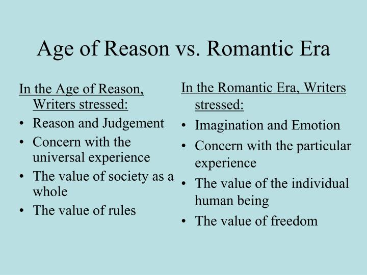 difference between romanticism and realism in art