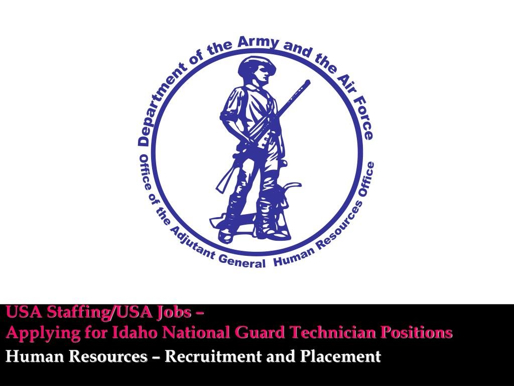 usa staffing usa jobs applying for idaho national guard technician positions l.