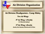 air division organization