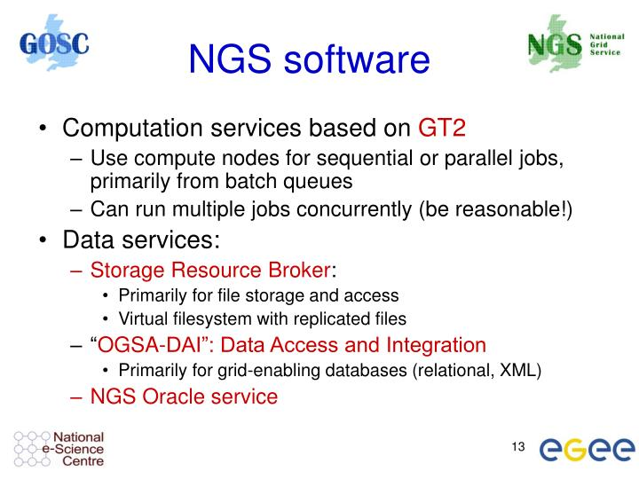 NGS software