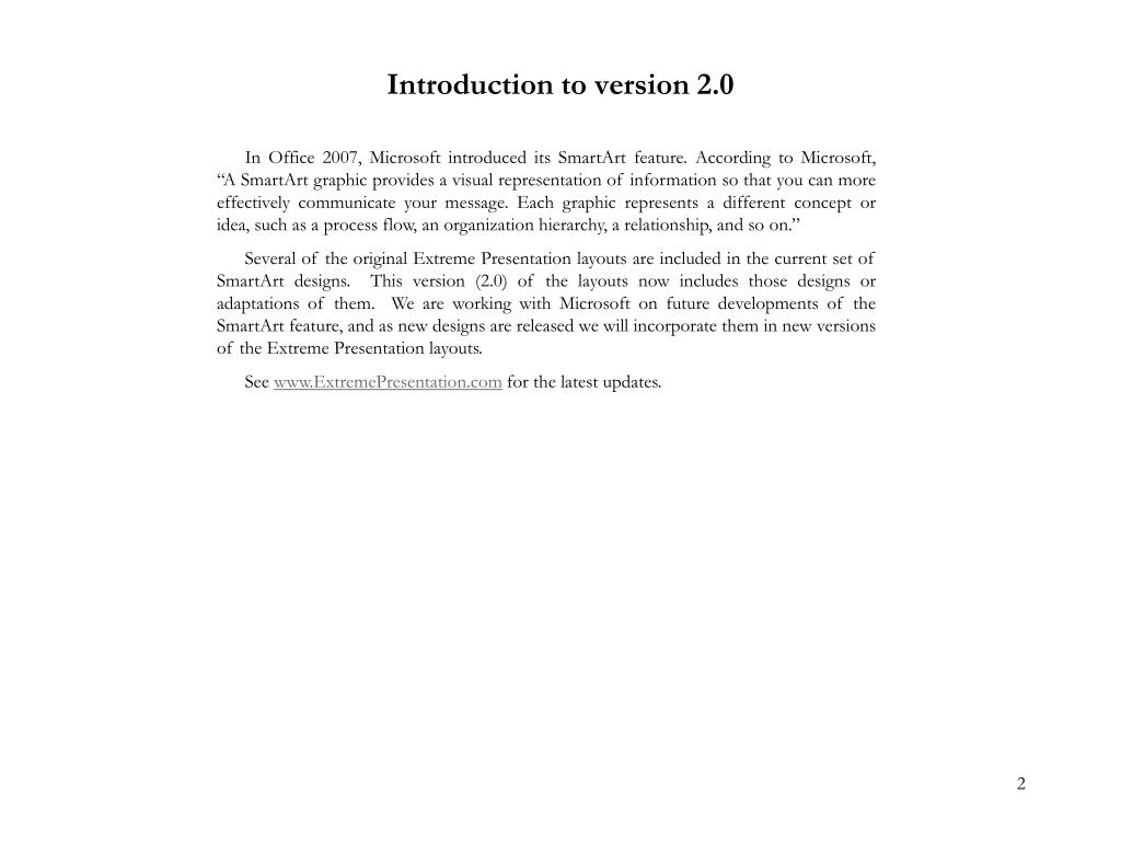 Introduction to version