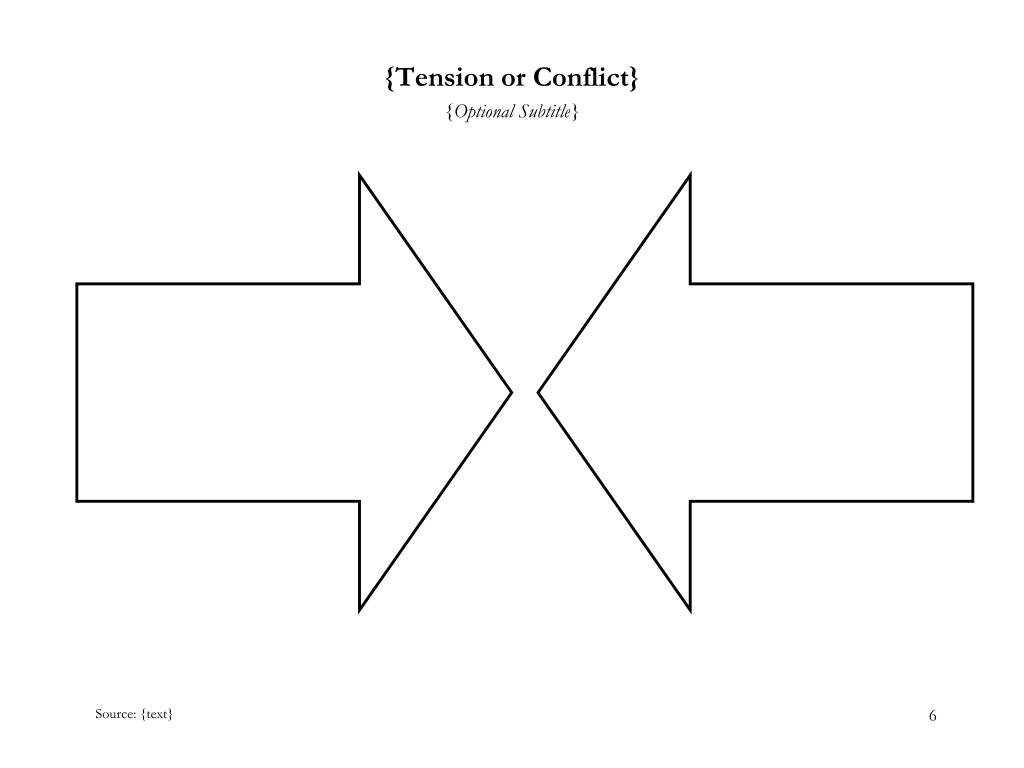 {Tension or Conflict}