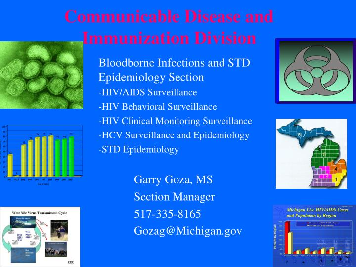 communicable disease and immunization division n.