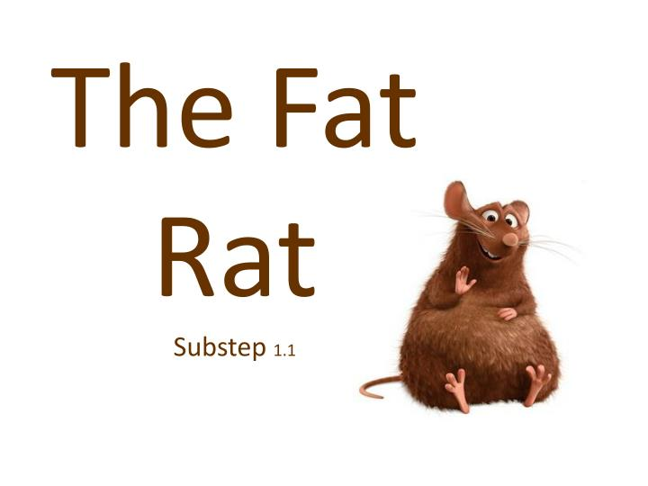 The fat rat substep 1 1