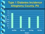 type 1 diabetes incidence allegheny county pa1