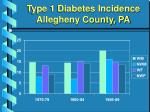 type 1 diabetes incidence allegheny county pa2