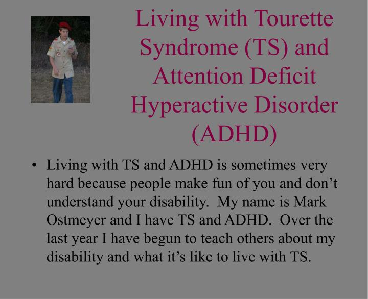 exploring the disorder tourette syndrome essay Tourette syndrome has long been considered a model disorder to study the parts of the brain that function at the intersection of our traditional concepts of neurology and psychiatry, scharf says.