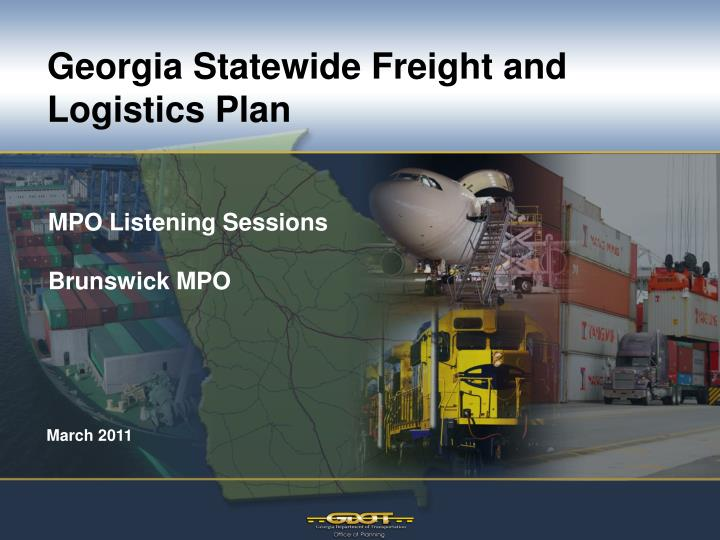 georgia statewide freight and logistics plan n.