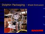 dolphin packaging sheet extrusion