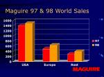 maguire 97 98 world sales