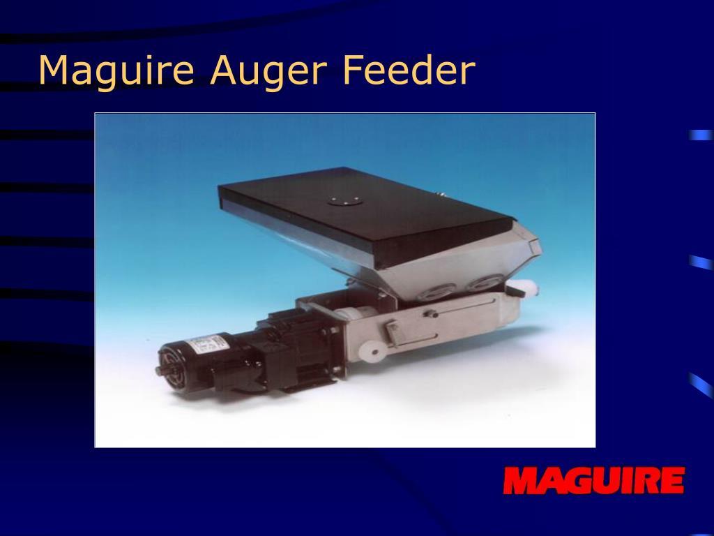 Maguire Auger Feeder