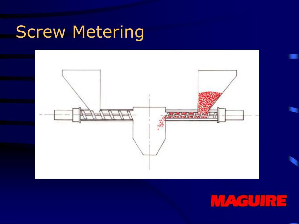 Screw Metering