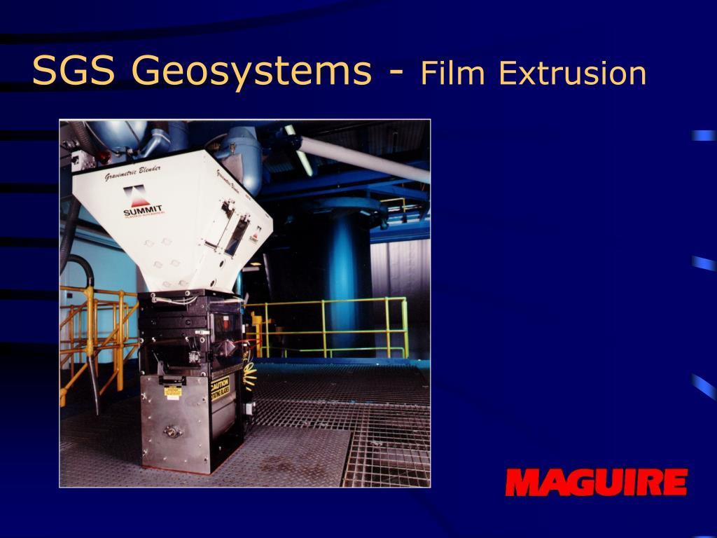 SGS Geosystems -