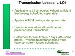 transmission losses l lo1