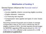 mobilisation of funding 3