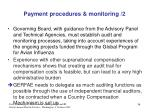 payment procedures monitoring 2