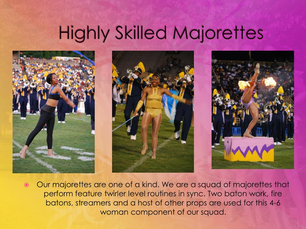 Highly Skilled Majorettes