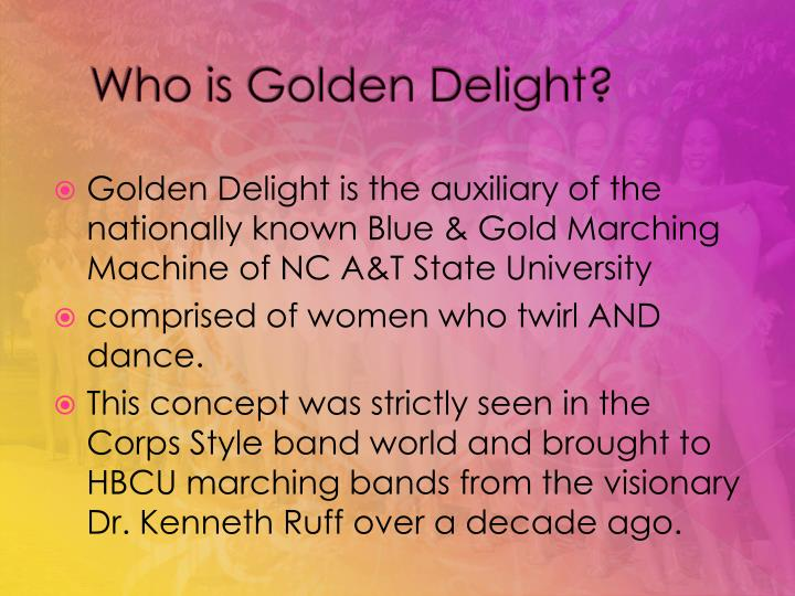 Who is golden delight2